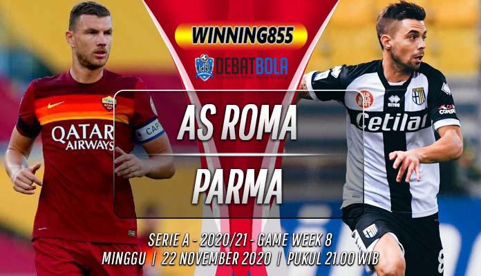 Prediksi AS Roma vs Parma 22 November 2020