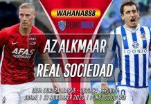 Prediksi AZ Alkmaar vs Real Sociedad 27 November 2020