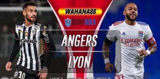 Prediksi Angers vs Lyon 22 November 2020