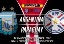 Prediksi Argentina vs Paraguay 13 November 2020