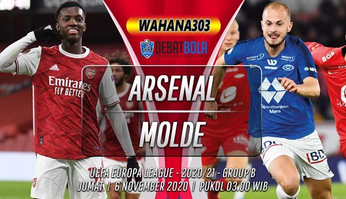 Prediksi Arsenal vs Molde 6 November 2020