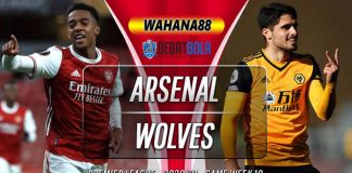 Prediksi Arsenal vs Wolves 30 November 2020