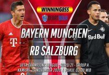 Prediksi Bayern Munchen vs RB Salzburg 26 November 2020