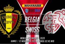 Prediksi Belgia vs Swiss 12 November 2020
