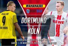 Prediksi Borussia Dortmund vs Köln 28 November 2020