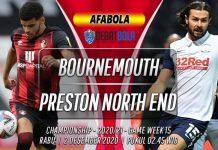 Prediksi Bournemouth vs Preston North End 2 Desember 2020