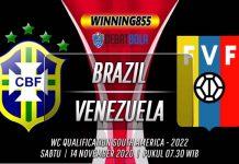 Prediksi Brazil vs Venezuela 14 November 2020