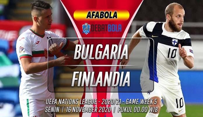 Prediksi Bulgaria vs Finlandia 16 November 2020