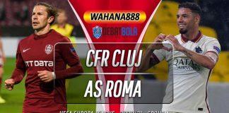 Prediksi CFR Cluj vs AS Roma 27 November 2020