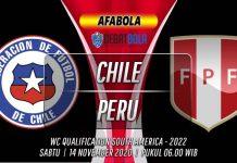 Prediksi Cili vs Peru 14 November 2020