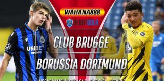 Prediksi Club Brugge vs Borussia Dortmund 5 November 2020