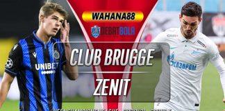 Prediksi Club Brugge vs Zenit 3 Desember 2020