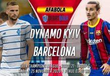 Prediksi Dynamo Kyiv vs Barcelona 25 November 2020