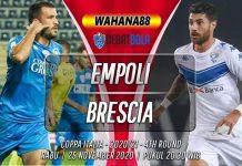 Prediksi Empoli vs Brescia 25 November 2020