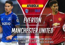 Prediksi Everton vs Manchester United 7 November 2020