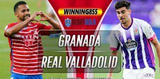 Prediksi Granada vs Real Valladolid 23 November 2020