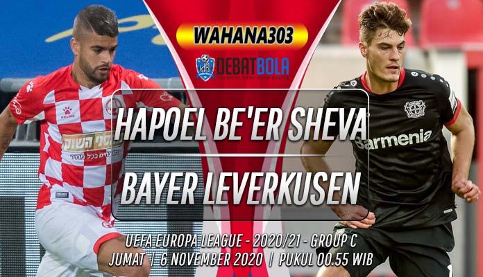 Prediksi Hapoel Be'er Sheva vs Bayer Leverkusen 6 November 2020