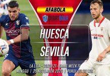 Prediksi Huesca vs Sevilla 29 November 2020