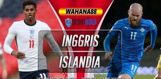 Prediksi Inggris vs Islandia 19 November 2020