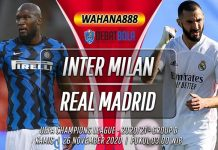 Prediksi Inter Milan vs Real Madrid 26 November 2020