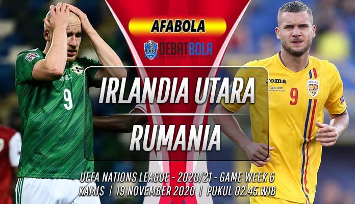 Prediksi Irlandia Utara vs Rumania 19 November 2020