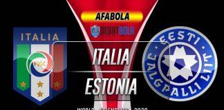Prediksi Italia vs Estonia 12 November 2020