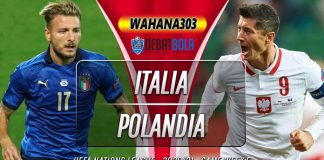 Prediksi Italia vs Polandia 16 November 2020