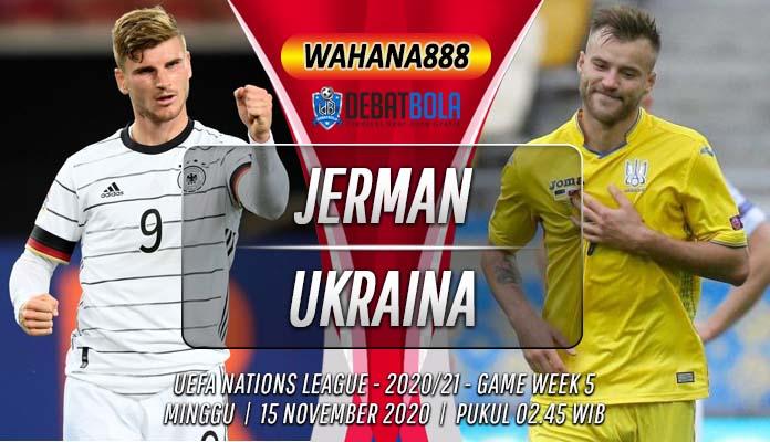Prediksi Jerman vs Ukraina 15 November 2020