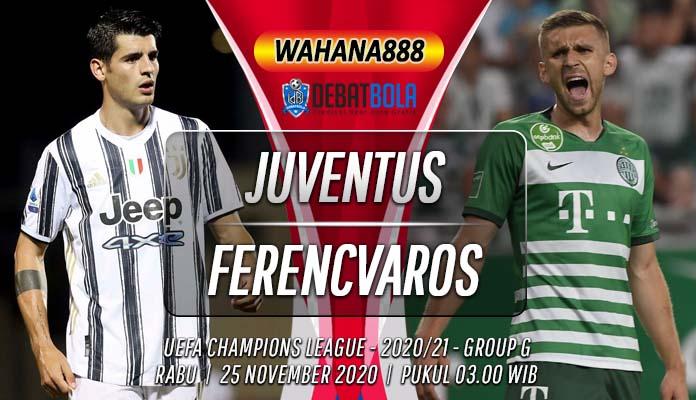 Prediksi Juventus Vs Ferencvaros Calon Kemenangan Mudah