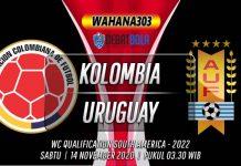 Prediksi Kolombia vs Uruguay 14 November 2020