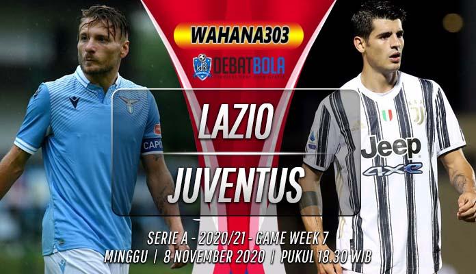 Prediksi Lazio vs Juventus 8 November 2020