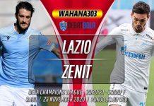 Prediksi Lazio vs Zenit 25 November 2020