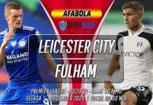 Prediksi Leicester City vs Fulham 1 Desember 2020