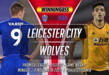 Prediksi Leicester City vs Wolves 8 November 2020