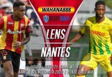 Prediksi Lens vs Nantes 26 November 2020