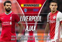 Prediksi Liverpool vs Ajax 2 Desember 2020