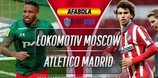 Prediksi Lokomotiv Moscow vs Atletico Madrid 4 November 2020