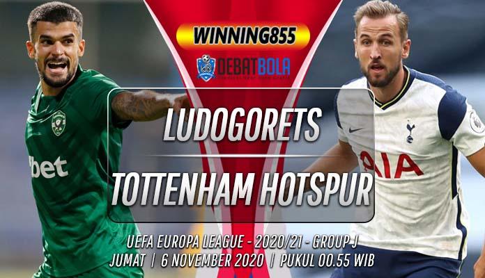 Prediksi Ludogorets vs Tottenham Hotspur 6 November 2020