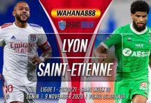 Prediksi Lyon vs Saint-Etienne 9 November 2020