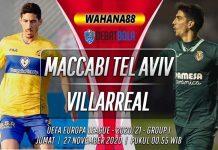 Prediksi Maccabi Tel Aviv vs Villarreal 27 November 2020