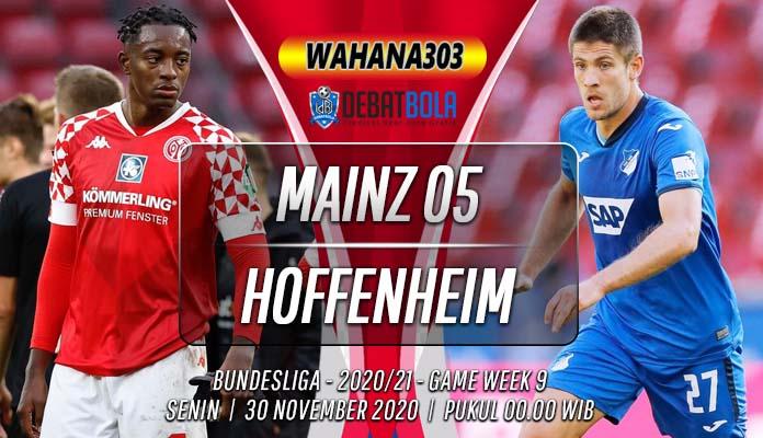 Prediksi Mainz 05 vs Hoffenheim 30 November 2020