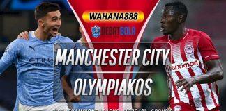 Prediksi Manchester City vs Olympiakos 4 November 2020
