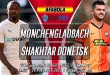Prediksi Monchengladbach vs Shakhtar Donetsk 26 November 2020
