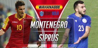 Prediksi Montenegro vs Siprus 18 November 2020