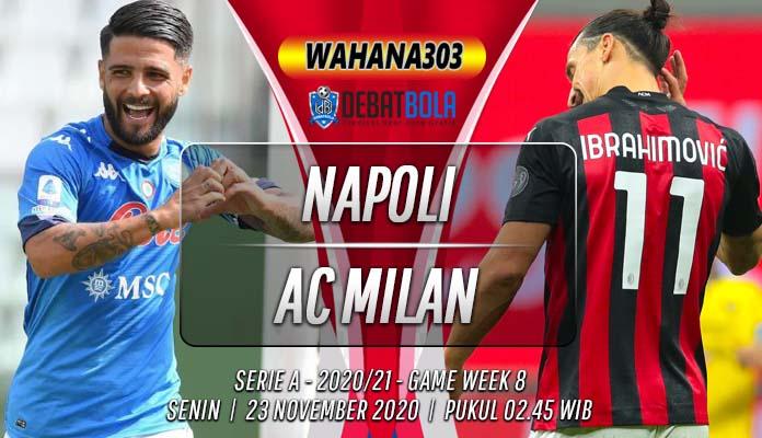 Prediksi Napoli vs AC Milan 23 November 2020