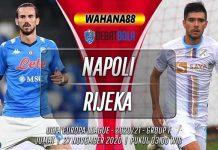 Prediksi Napoli vs Rijeka 27 November 2020