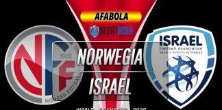 Prediksi Norwegia vs Israel 12 November 2020
