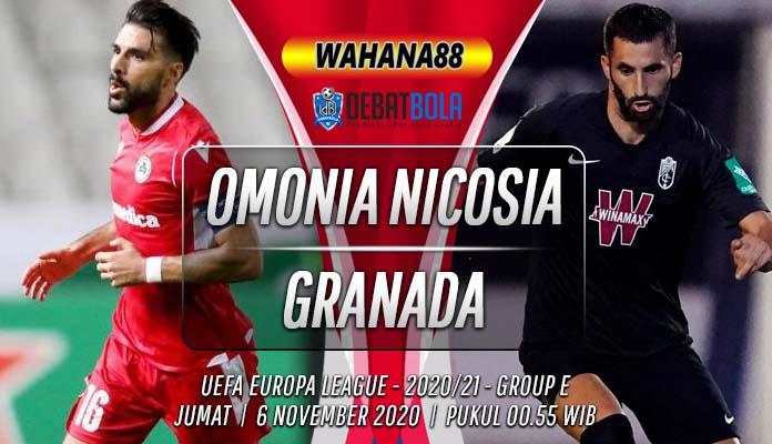 Prediksi Omonia Nicosia vs Granada 6 November 2020