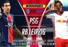 Prediksi PSG vs RB Leipzig 25 November 2020