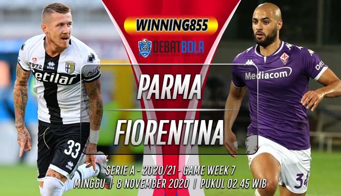 Prediksi Parma vs Fiorentina 8 November 2020